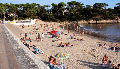 Plage de nauzan - Saint palais sur mer office du tourisme ...